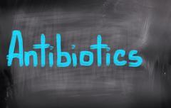 Antibiotics Concept - stock illustration