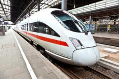 High speed train in Germany Stock Photos