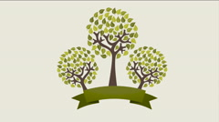 Nature and ecology design, Video Animation Stock Footage