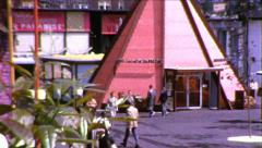 Seattle World's Fair Fairgrounds 1960s Vintage Film Home Movie 8701 Stock Footage