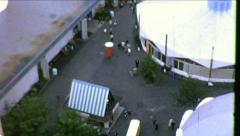 Seattle World's Fair Fairgrounds 1960s Vintage Film Home Movie 8703 Stock Footage