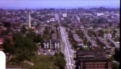 South SEATTLE King Street Station Vintage Film Retro Film Old Home Movie 8707 Stock Footage