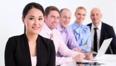 Successful business team Arkistovideo