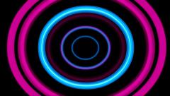 Colorful Circles Background Stock Footage