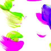 Abstract oil color. Paint brush strokes. Stock Photos