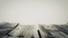 Rough natural aged wood planks 4k Stock Footage