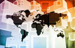 Global Import Export Stock Illustration