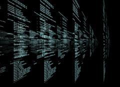 Matrix on black Piirros