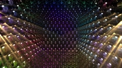 Music video shiny backdrop - stock footage