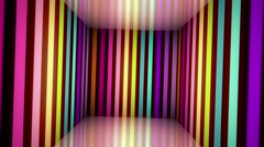 Music video neon backdrop - stock footage