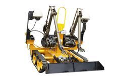 Multipurpose robot Stock Photos
