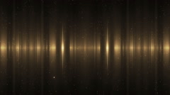Audio Gold Equalizer. - stock footage