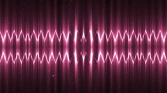 Audio Pink Equalizer. - stock footage