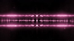Audio Pink Equalizer. Stock Footage
