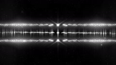 Audio Silver Equalizer. Stock Footage
