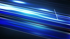 Blue stripes motion blur abstract loop animation 4k (4096x2304) Stock Footage