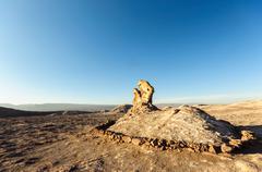 Rock formations, Valle de la Luna, Atacama desert, Chile Stock Photos
