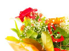 Isolated Flower Bouquet Stock Photos