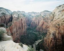 Angel's Landing at Zion National Park, Utah, USA Stock Photos