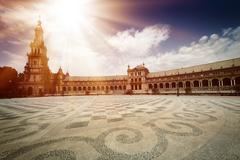 Plaza de Espana - stock photo