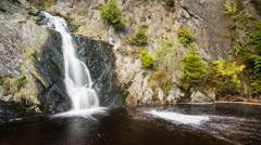 Waterfall Timelapse Stock Footage