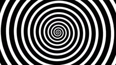 Swirling hypnotic spiral - 01-zna Stock Footage