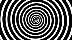 Swirling hypnotic spiral - 01- ypa Stock Footage