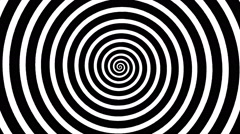 Swirling hypnotic spiral - xpb - stock footage