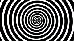 Swirling hypnotic spiral - xna Stock Footage