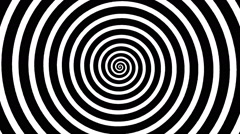 Swirling hypnotic spiral - vpb - stock footage