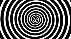 Swirling hypnotic spiral - vpa Stock Footage