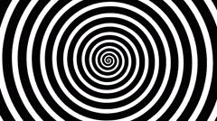 Swirling hypnotic spiral - vna Stock Footage
