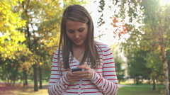 Online Chatting Stock Footage