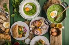 Festival food day - stock photo