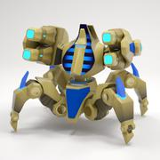 "3d model of Robot ""Immortal"""