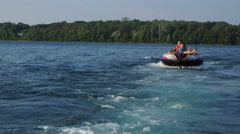 Summer Tubing - stock footage