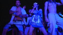 Full Moon Party Ko Pha Ngan, Thailand Stock Footage