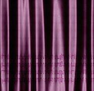 Decorative pink fabric - stock illustration