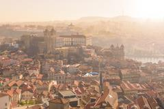Stock Photo of View of Oporto from high