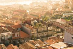 Stock Photo of Rooftop of Oporto, Portugal