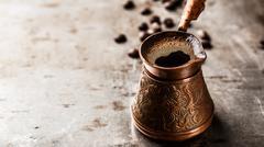 Coffee in turk Stock Photos