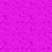 Magenta seamless triangle pattern background Stock Illustration