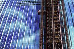 Construction of skyscraper in gang-nam, seoul Stock Photos