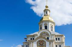 Annunciation Cathedral, Holy Trinity Seraphim-Diveevo convent, Russia Stock Photos