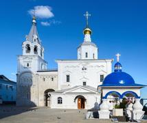 Holy Bogolyubovo Monastery, Vladimir region, Russia Stock Photos