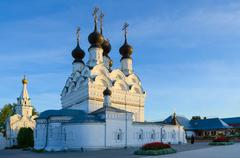 Holy Trinity convent in Murom, Russia Stock Photos