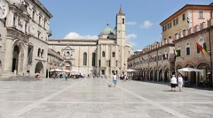 View of Ascoli Piceno - Italy Stock Footage