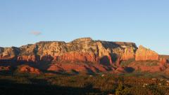 Sunset in Sedona Arizona Stock Footage