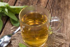 Fresh made Sage Tea Stock Photos