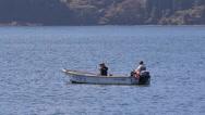 Stock Video Footage of Fishing on Lake Hakone, Japan